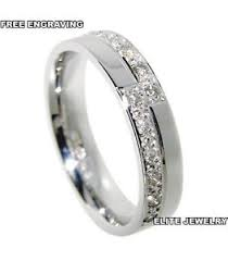 4mm diamond 950 platinum womens anniversary wedding bands rings diamonds 4mm