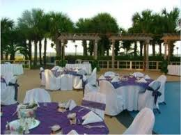 cheap places to a wedding wedding ceremony breakers pool deck kingston plantation