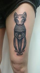 the 25 best egyptian cat tattoos ideas on pinterest bastet