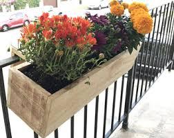 balcony planter etsy