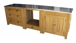 meubles cuisine sur mesure cuisine sur mesure en chêne massif zinc