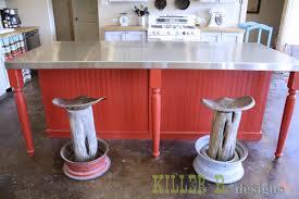 rustic tractor seat bar stools hometalk