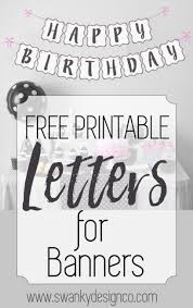 best 25 banner letters ideas on free printable banner