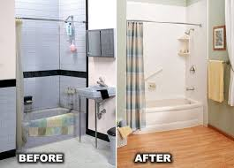 Bathroom Remodels Before And After Pictures by One Day Bathroom Remodel Toledo Oh And Mi