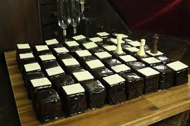 64 piece chess board cake 54 steps with pictures