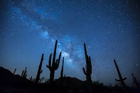 free photo sky landscape rocks silhouette milky way night max pixel