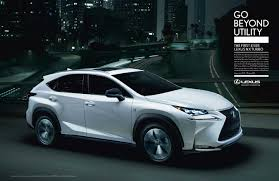 lexus midsize suv 2015 lexus goes beyond utility with first ever nx crossover