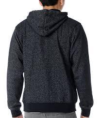 zine template zine template speckled black zip up hoodie zumiez
