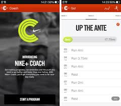 half android nike running for android offers coach programs