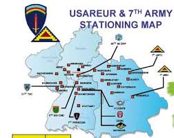 map us army bases the number of u s bases in germany u s
