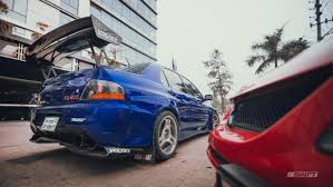 subaru evo the first meet in bangladesh among arch rivals from mitsubishi and