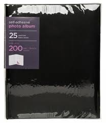self adhesive album whsmith large black photo album 25 black self whsmith