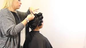how to finger wave long hair long hairstyles dry wave set