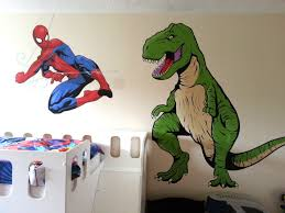 our latest mural paintings after this i had a job painting the ceiling for the fireball pizza company in bromley we have painted some murals for them before some gargoyles eating