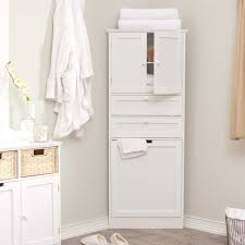 Bathroom Storage Freestanding Corner Bathroom Cabinet Standing Unit Also Bathrooms With Corner