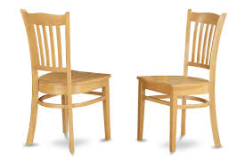 Light Oak Kitchen Chairs by Amazon Com East West Furniture Grc Whi W Dining Chair Set With