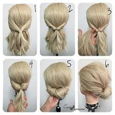 Frisuren Anleitung Chignon by Chignon Hair Nutrients Frisur Haar Und Haarknoten
