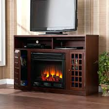 electric fire stand wall fireplace flat screen entertainment unit