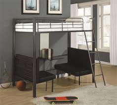 Amazon Com Bunk Bed All In 1 Loft With Trundle Desk Chest Closet by Bedroom Exciting Bedroom Furniture Design With Unique Bunk Beds
