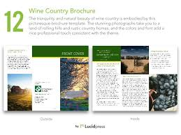 country brochure template 13 best brochure templates for business