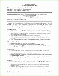 sample resume for clothing retail sales associate assistant manager job description resume free resume example and retail supervisor job description confirmation of receipt template store manager resume pdf admin assistant job description