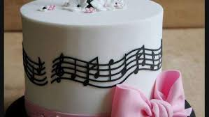 15 beautifully made musical notes cakes