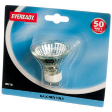 gu10 50w halogen light bulbs eveready halogen light bulb 50w gu10 blister pack halogen