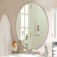 Oval Mirrors For Bathroom by