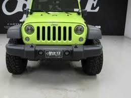jeep rubicon green 2016 jeep wrangler unlimited 4x4 suv rubicon green for sale plano