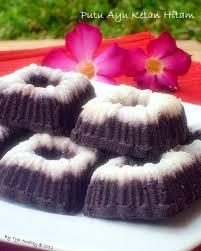 membuat kue dari tepung ketan resep putu ayu ketan hitam