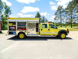 Ford Diesel Truck Fires - 2007 ford f 550 4x4 quick attack w ambulance package used truck