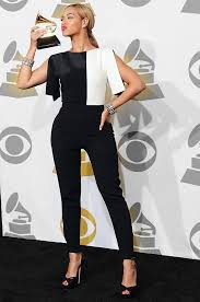 black and white jumpsuit for beyonce split sleeve black white jumpsuit playsuit