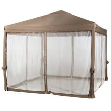 gazebo mosquito netting 10 x 10 outdoor garden gazebo with mosquito netting