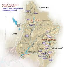 Map Of Major Rivers In The United States by Colorado River Storage Project Uc Region Bureau Of Reclamation