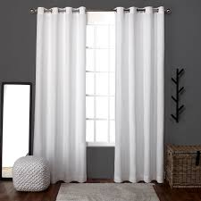 Home Classics Blackout Curtain Panel by Amazon Com Exclusive Home Curtains Loha Linen Window Curtains