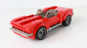 lego speed champions ferrari lego speed champions chevrolet corvette stingray 1967 moc legos