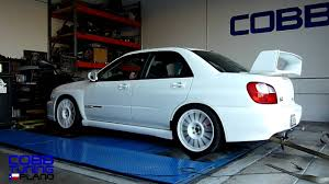 subaru evo modified 301 whp 285 wtq 2002 subaru wrx cobb tuning plano youtube