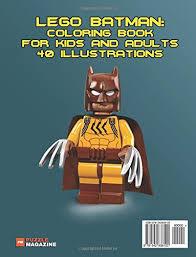 amazon lego batman coloring book kids adults 40