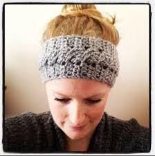 crocheted headbands free crochet headband earwarmer patterns feltmagnet