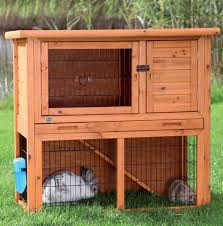 Ferret Hutches And Runs Natura Rabbit Hutch With Run Small Pet Cages And Pens From