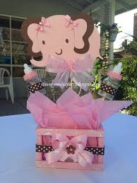 Baby Shower Centerpieces Pinterest by Baby Elephant Baby Shower Centerpiece By Designsbyemilys On Etsy