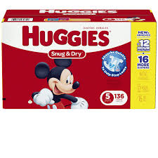 huggie drinks huggies snug diapers pack size 5 120 ct meijer