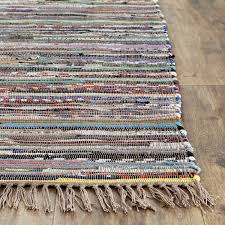 Cotton Weave Rugs Amazon Com Safavieh Rag Rug Collection Rar121e Hand Woven Rust