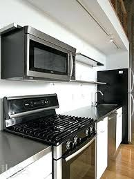 over range microwave no cabinet how to install over the range microwave without a cabinet above