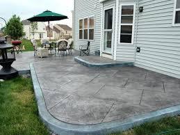Backyard Cement Patio Ideas Patio Ideas Concrete Patio Ideas Backyard Concrete Patio Ideas