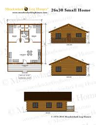 26x30 log home meadowlark log homes detailed plans detailed plans