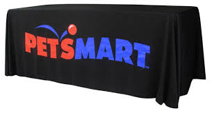 8 ft table cloth with logo 8ft tradeshow table cover with free shipping logo tablecloth
