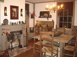 Primitive Dining Room Tables 363 Best Primitive Colonial Dining Rooms Images On Pinterest