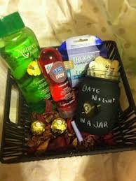 date gift basket ideas a gift basket i did it s called date it is for an