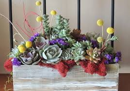 succulent arrangements succulent wedding bouquets centerpieces more succulents